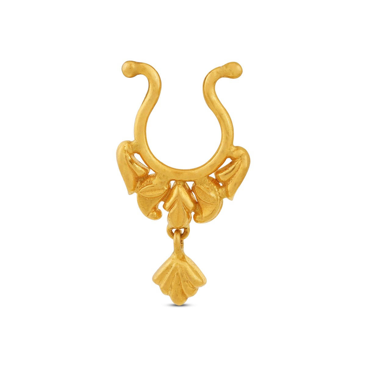Aksha Yellow Gold Nosepin