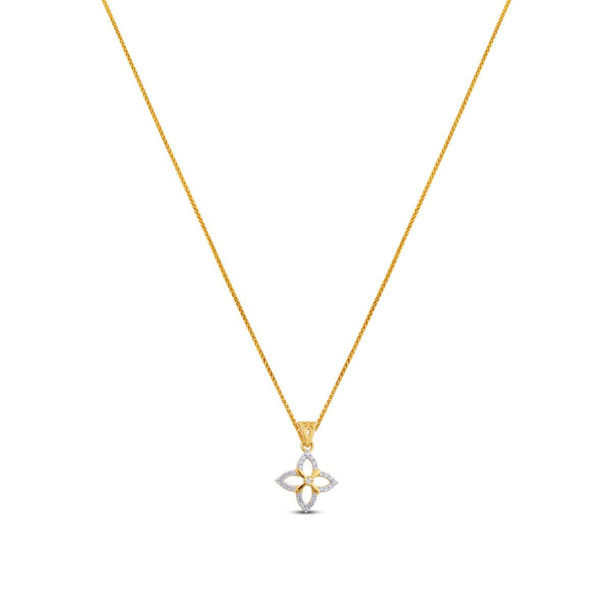 Bella Diamond & Yellow Gold Pendant