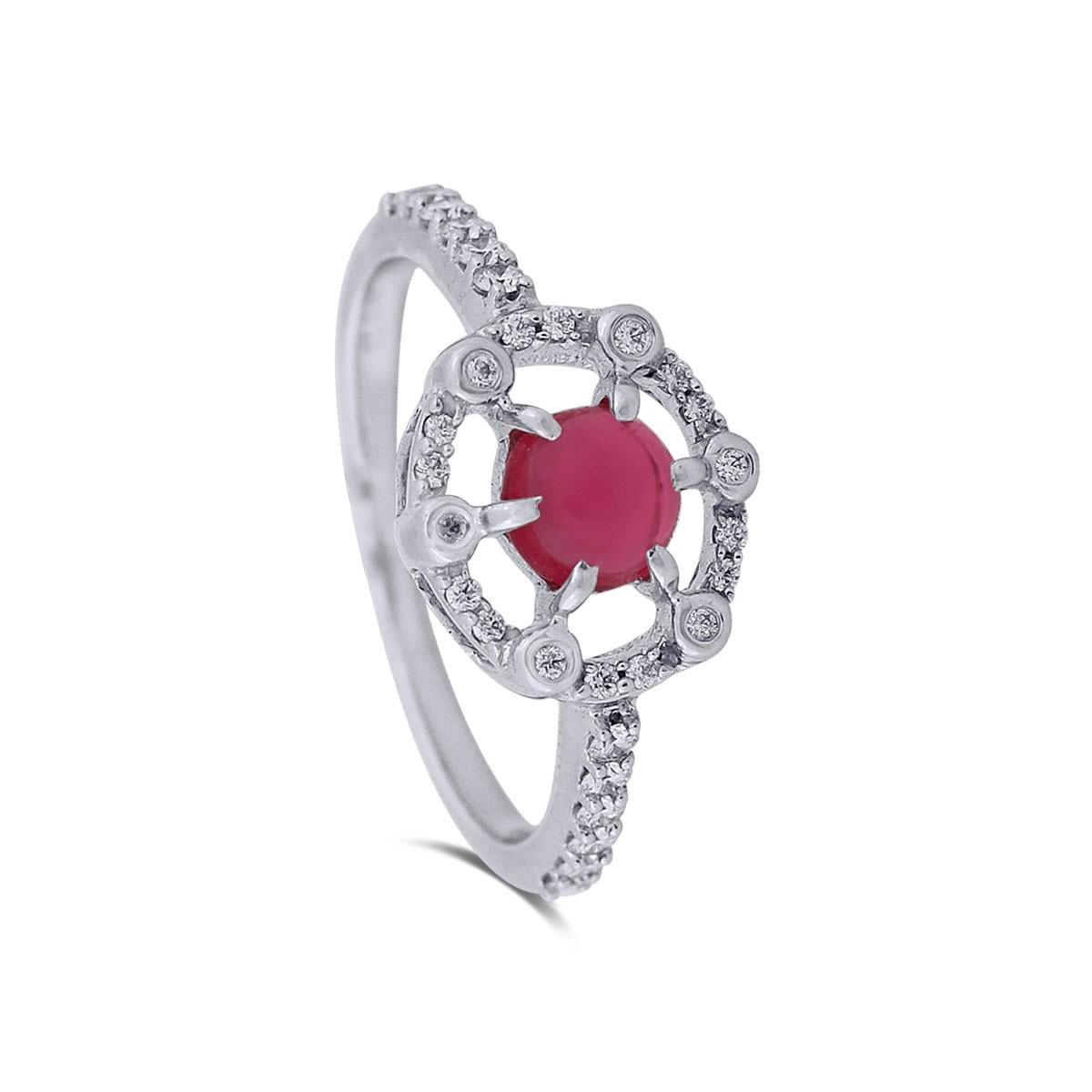 Sameera WhiteGold Diamond Ring