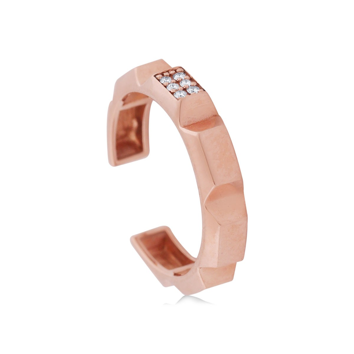 Sofia Rose Gold Diamond Ring