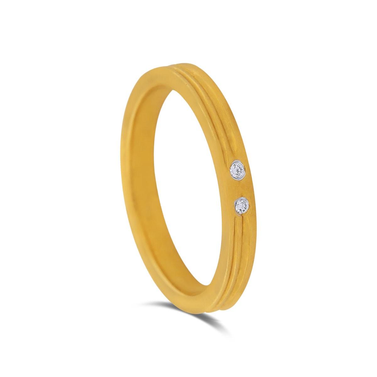 Johanna Yellow Gold Diamond Ring