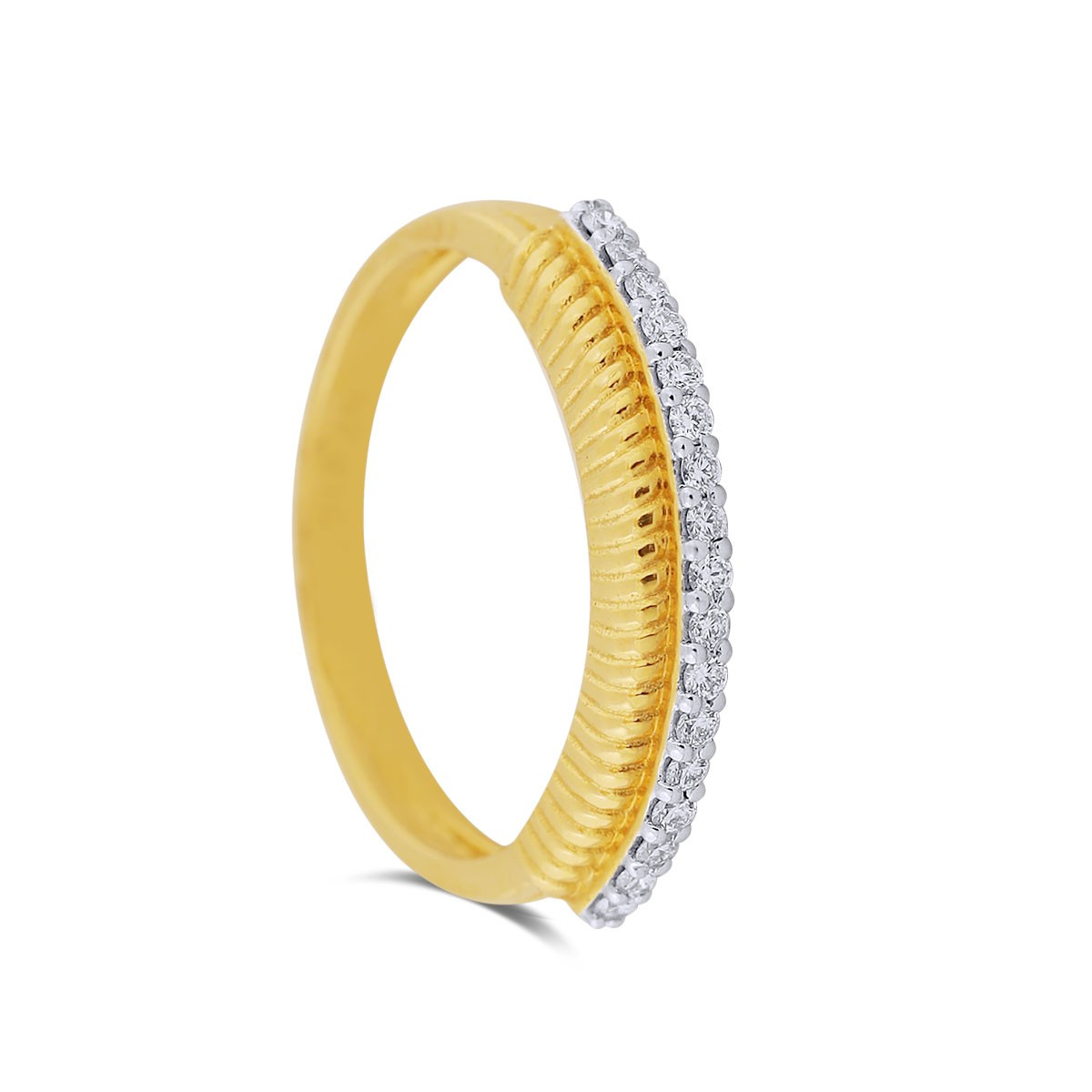 Dania Yellow Gold Diamond Ring