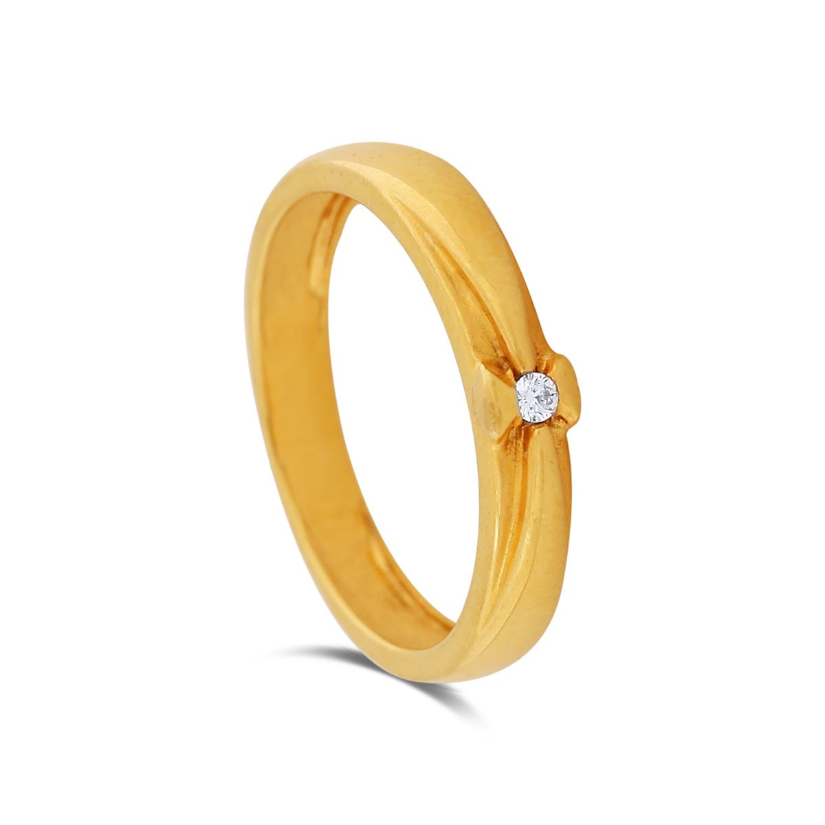 Neisha Yellow Gold Diamond Ring