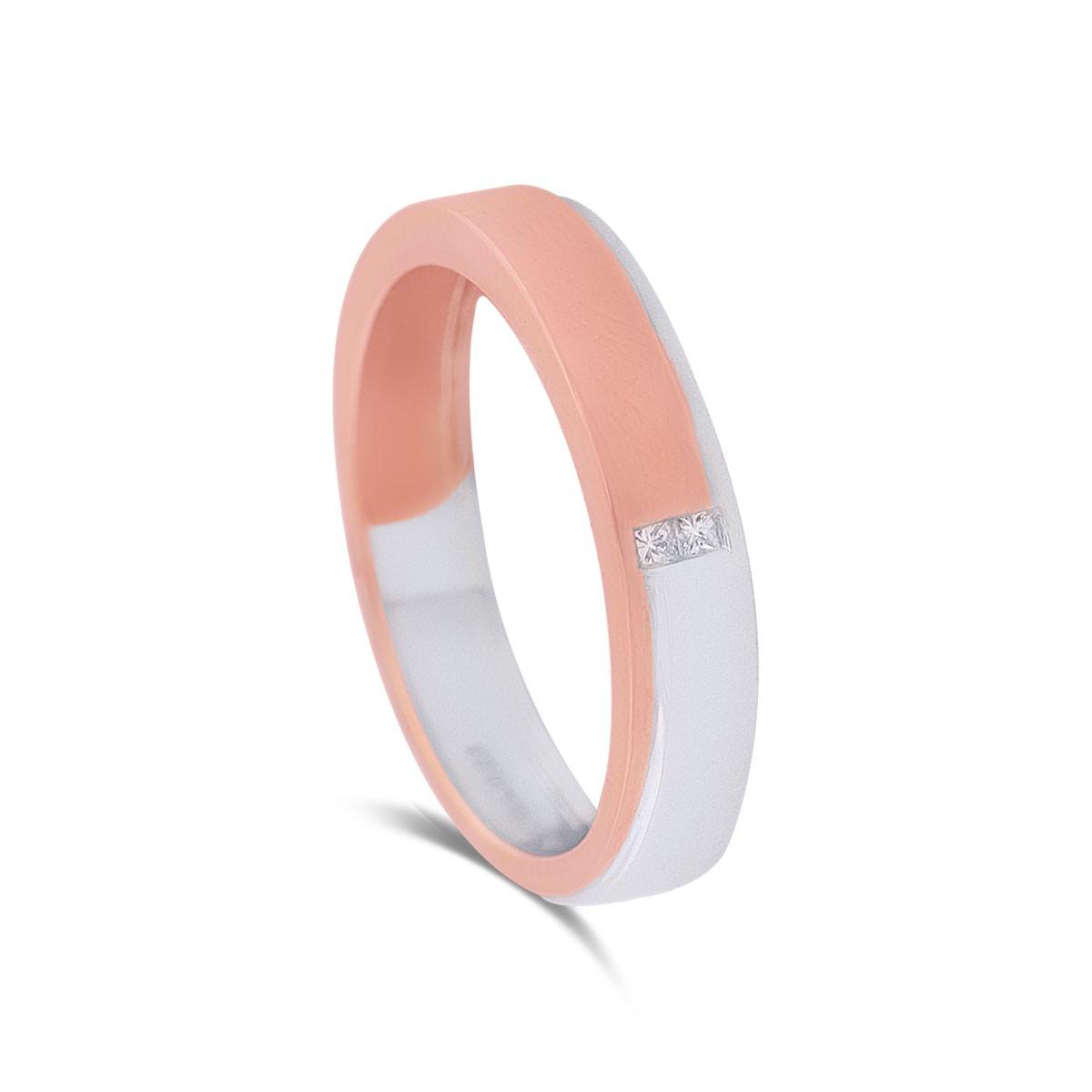 Willa Two-Tone Diamond Ring