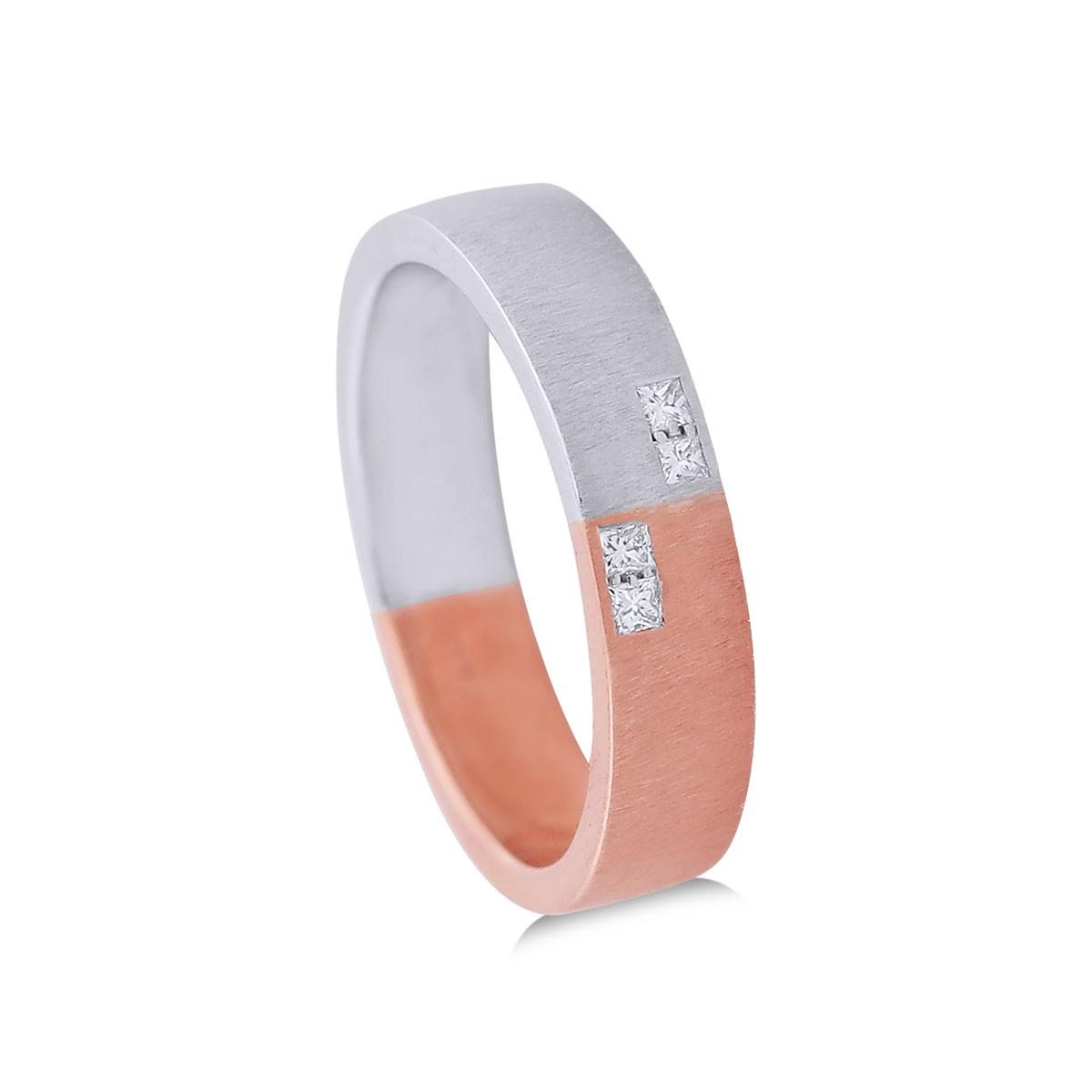 Reveka Two-Tone Diamond Ring