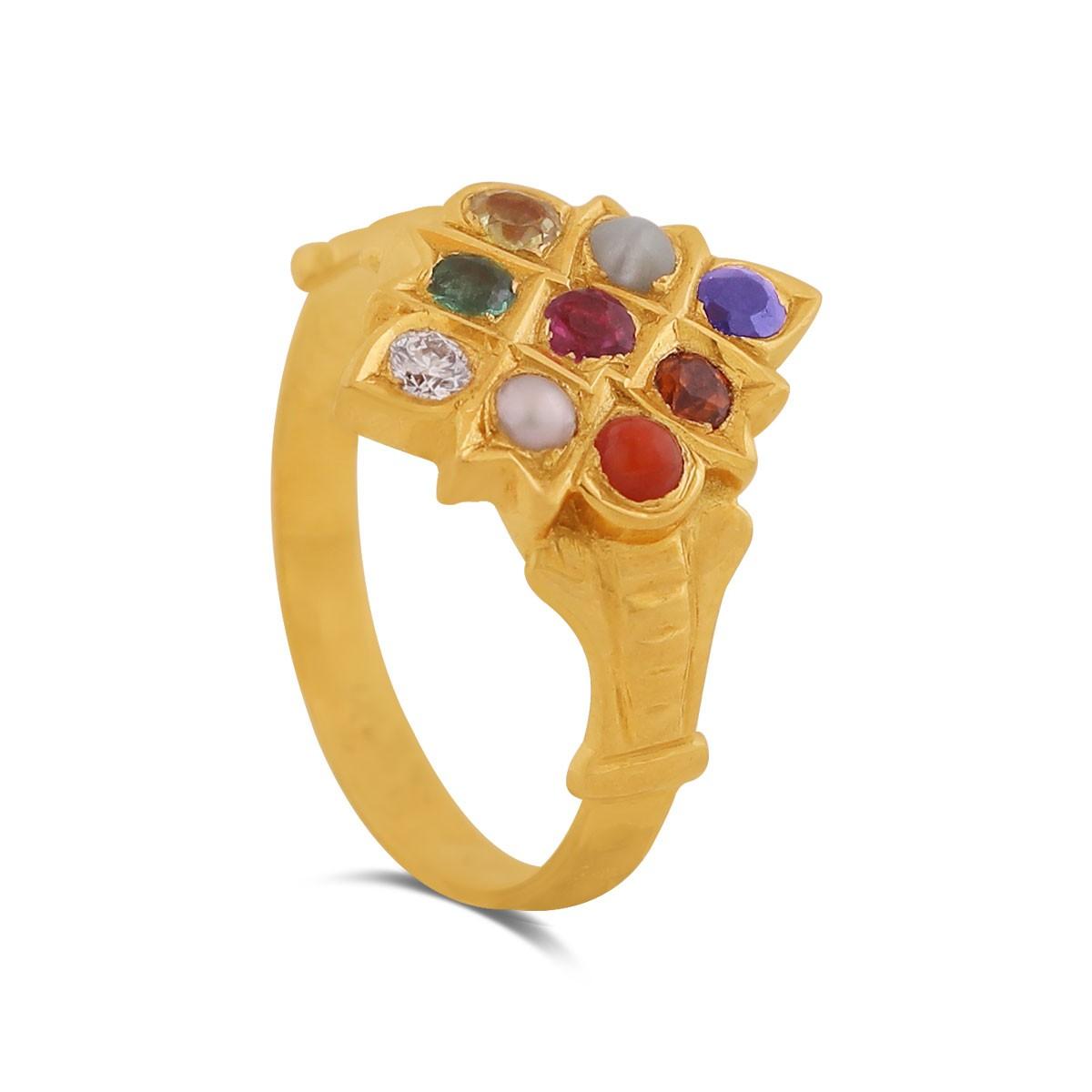 Pesha Yellow Gold Diamond Ring