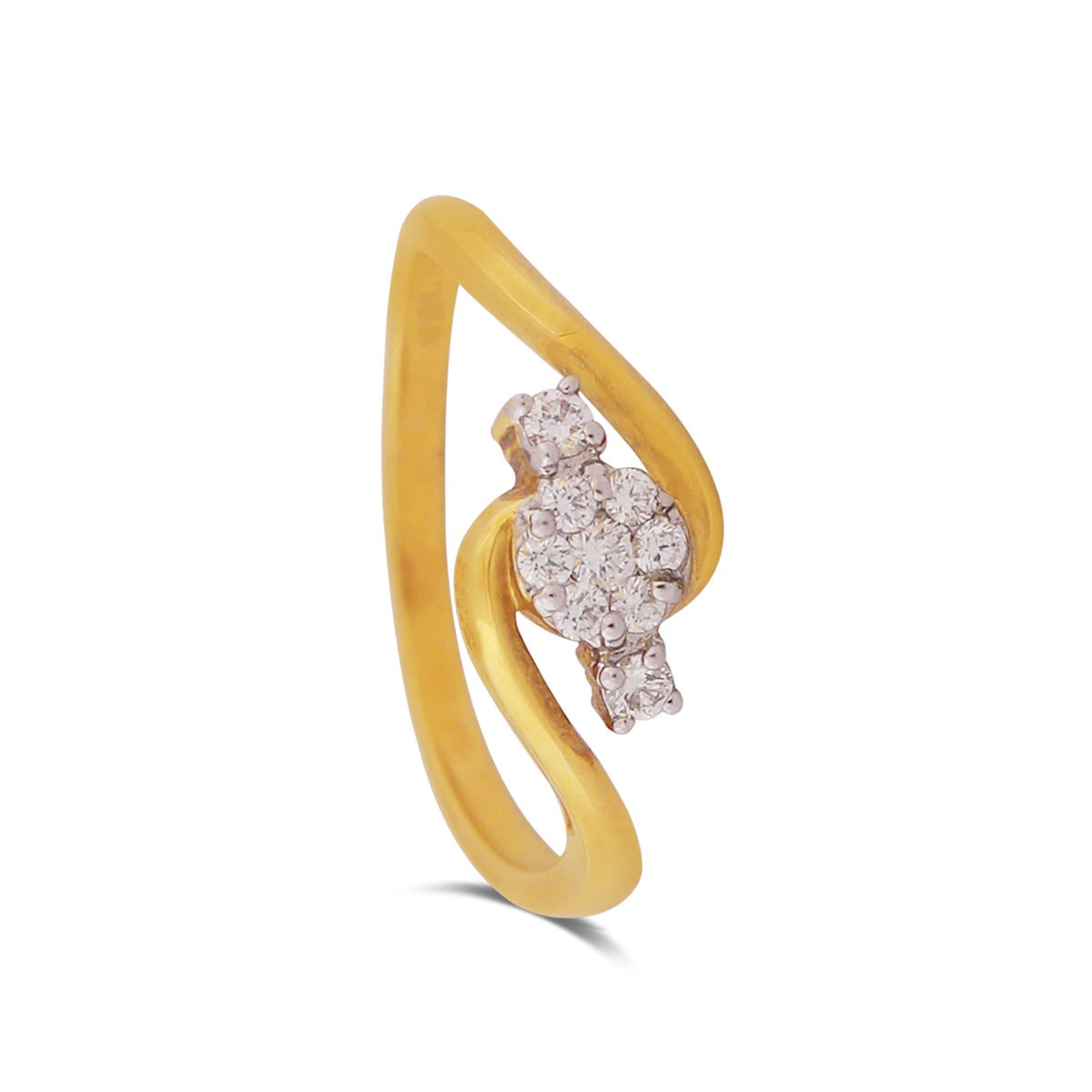 Tilia Yellow Gold Diamond Ring