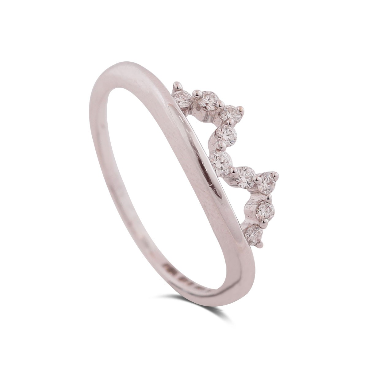 Tiara White Gold Diamond Ring