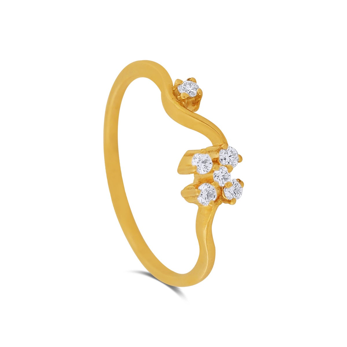 Sydney Yellow Gold Diamond Ring