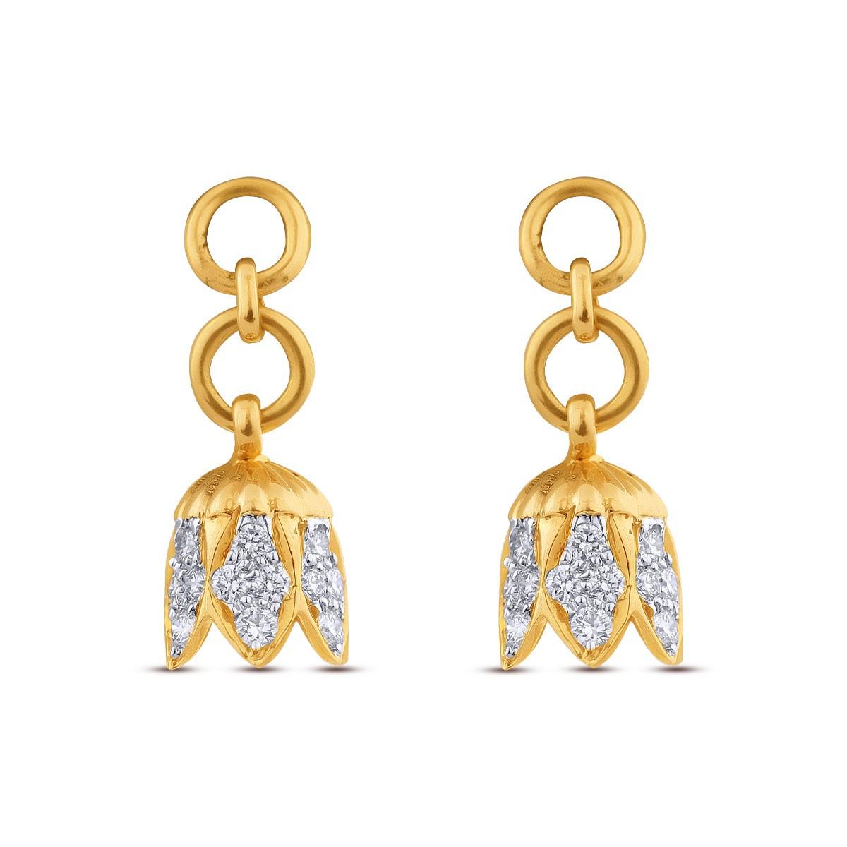 Diamond Jhumkas 139A32795
