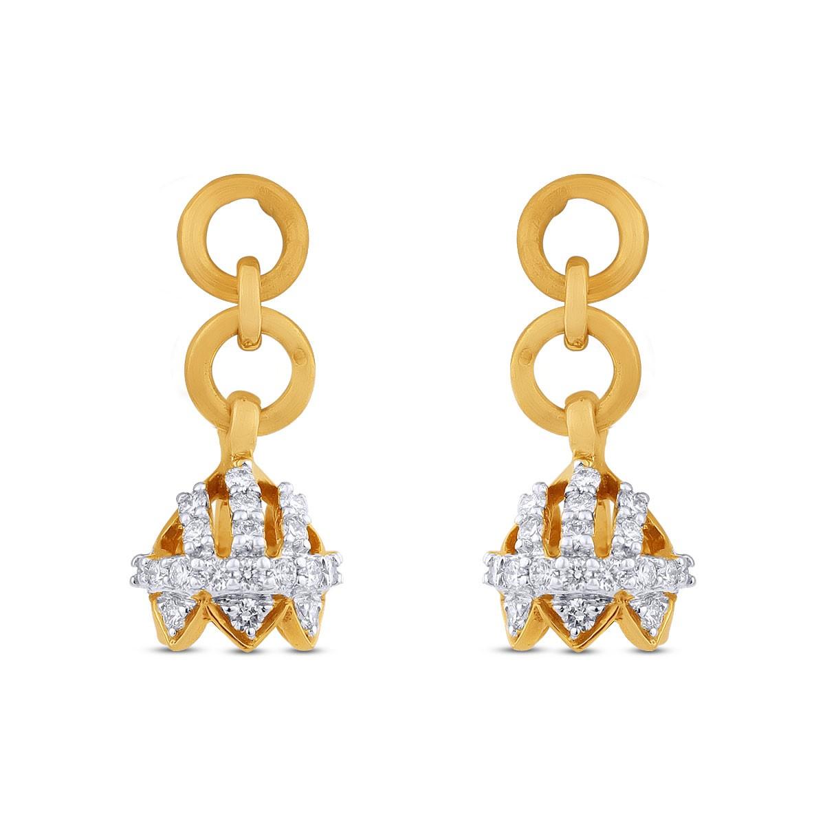 Diamond Jhumkas 139A32796