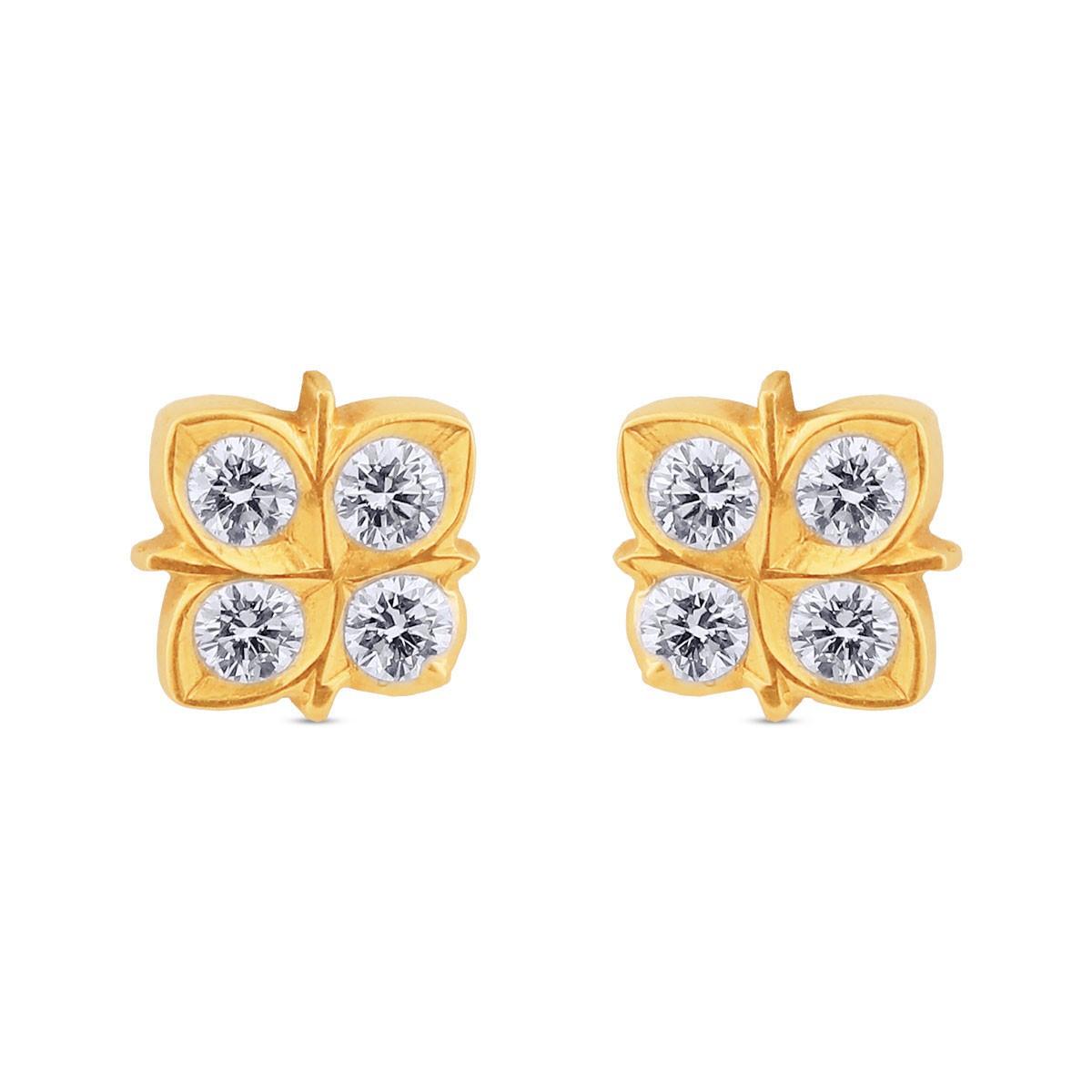 Malina Diamond Stud Earrings