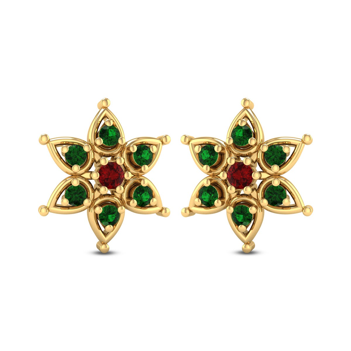 Sophornitella Royal Stud Earrings