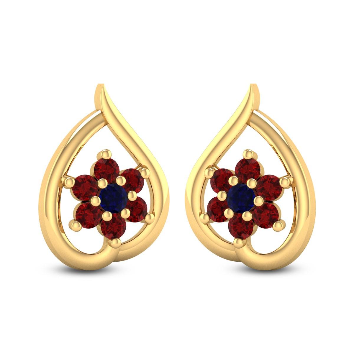 Franca Royal Stud Earrings