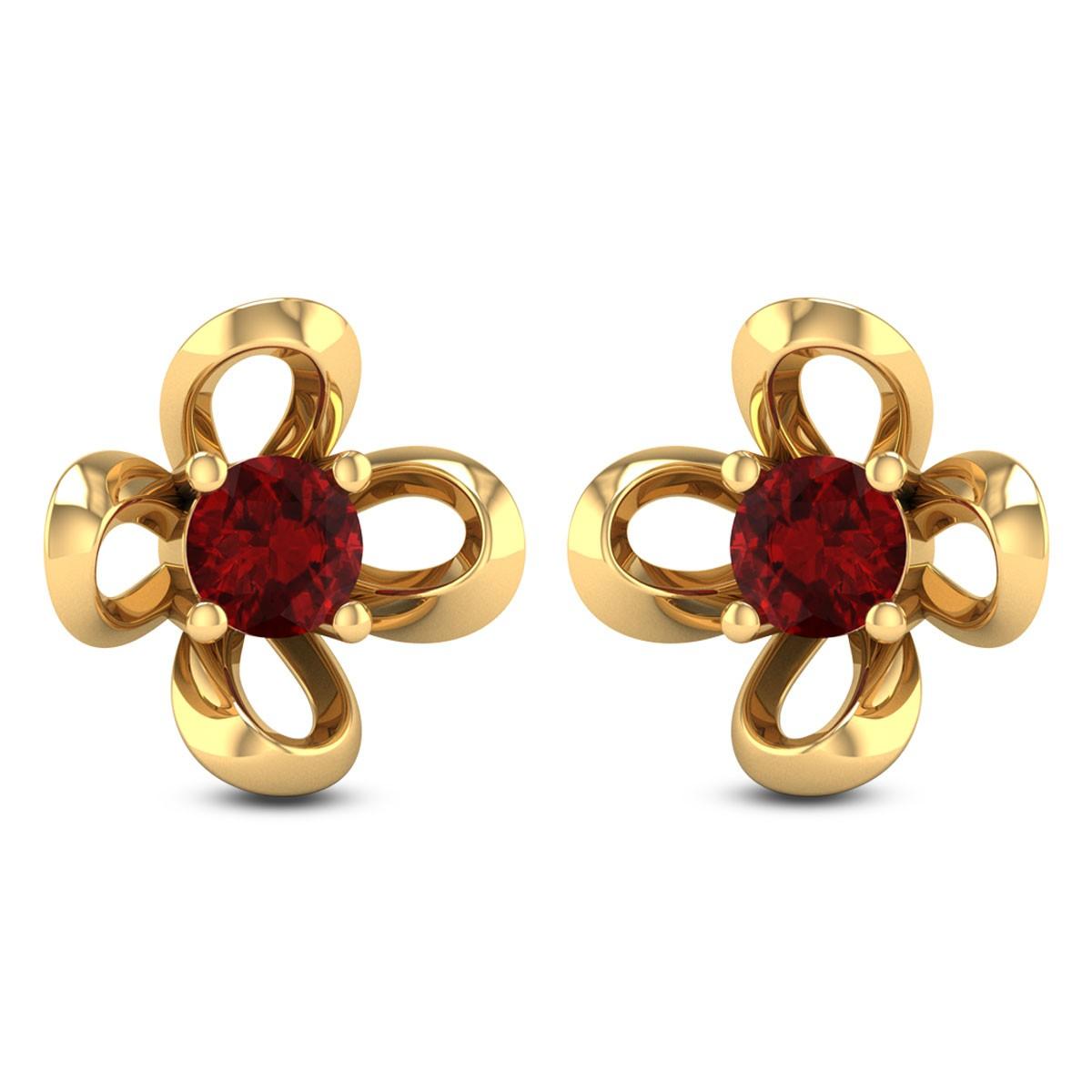 Jacaranda Stud Earrings
