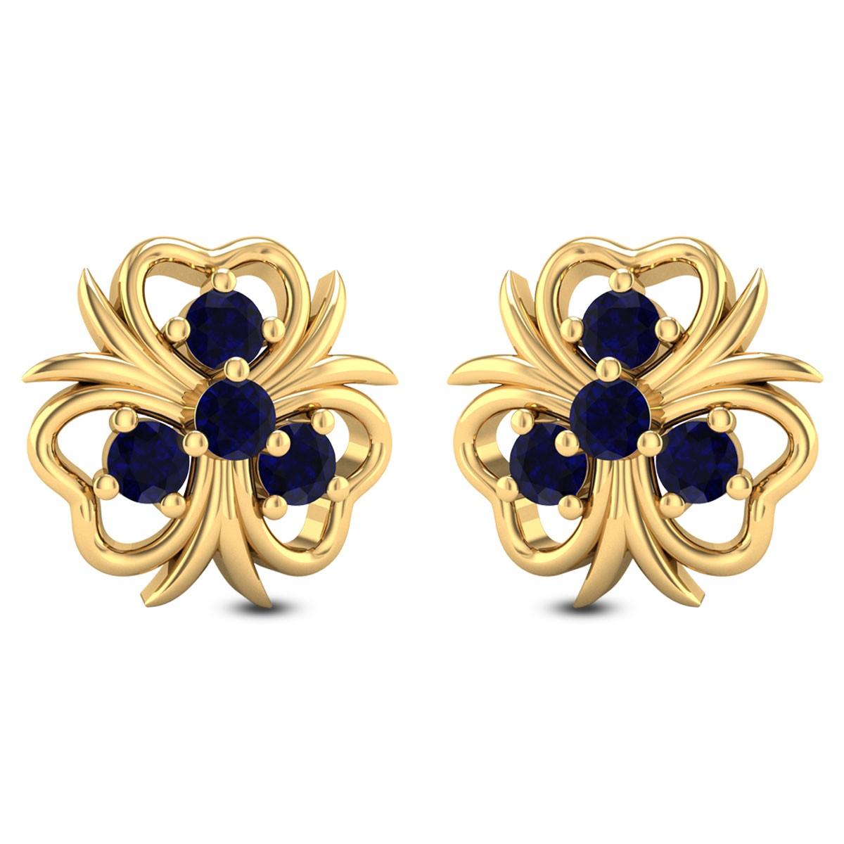 Nigella Floral Stud Earrings