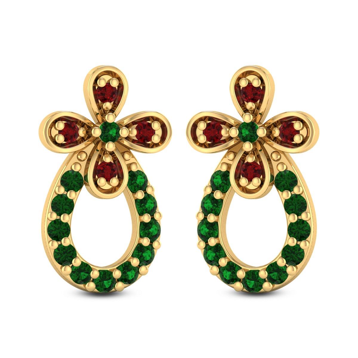 Phelanopsis Stud Earrings