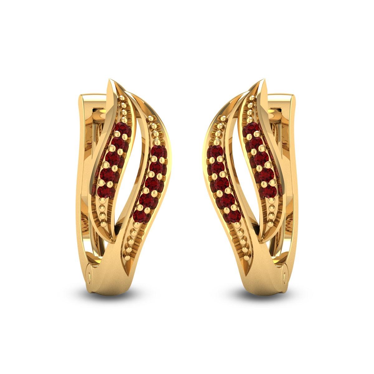 Nerine Hoop Earrings
