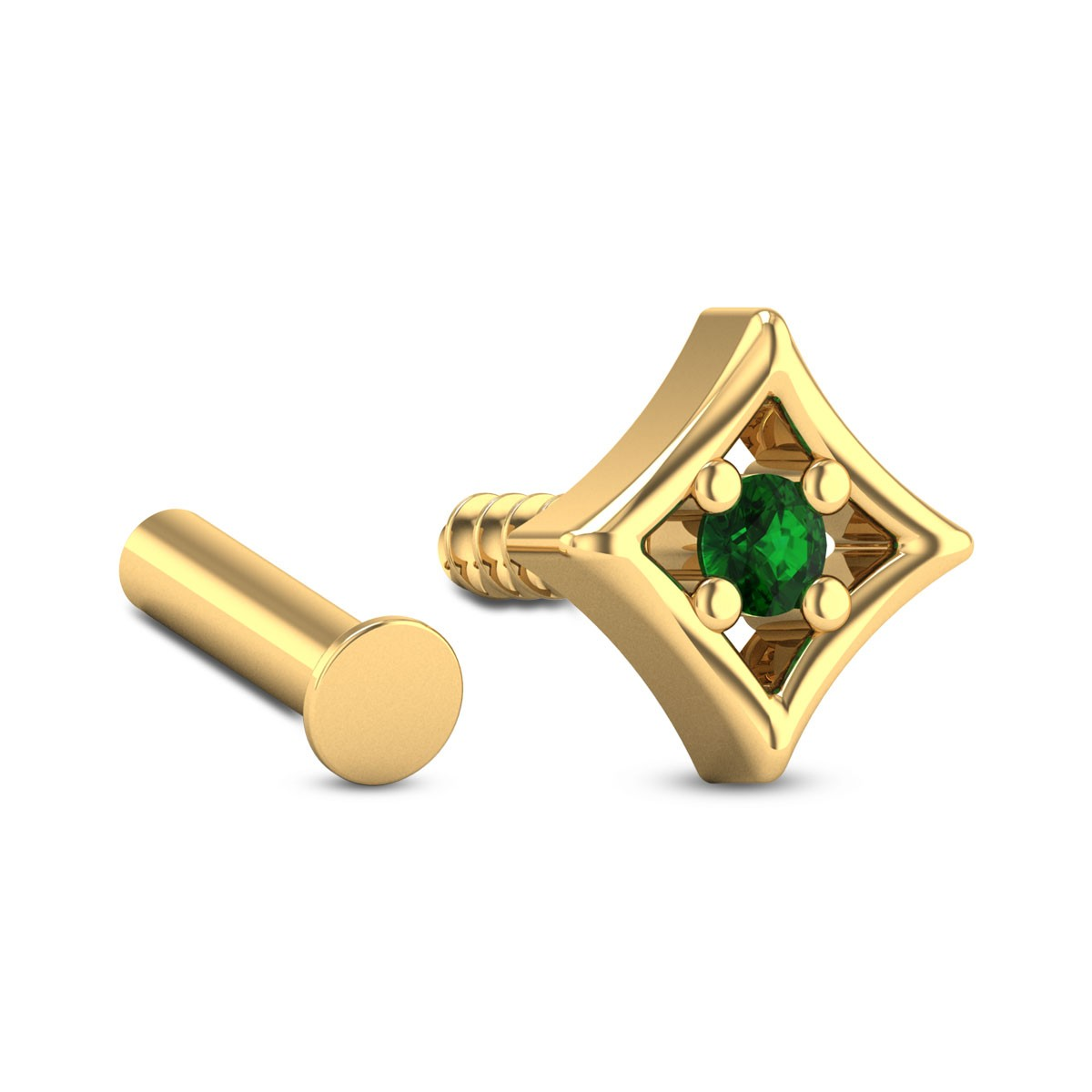 Inas Emerald Nosepin