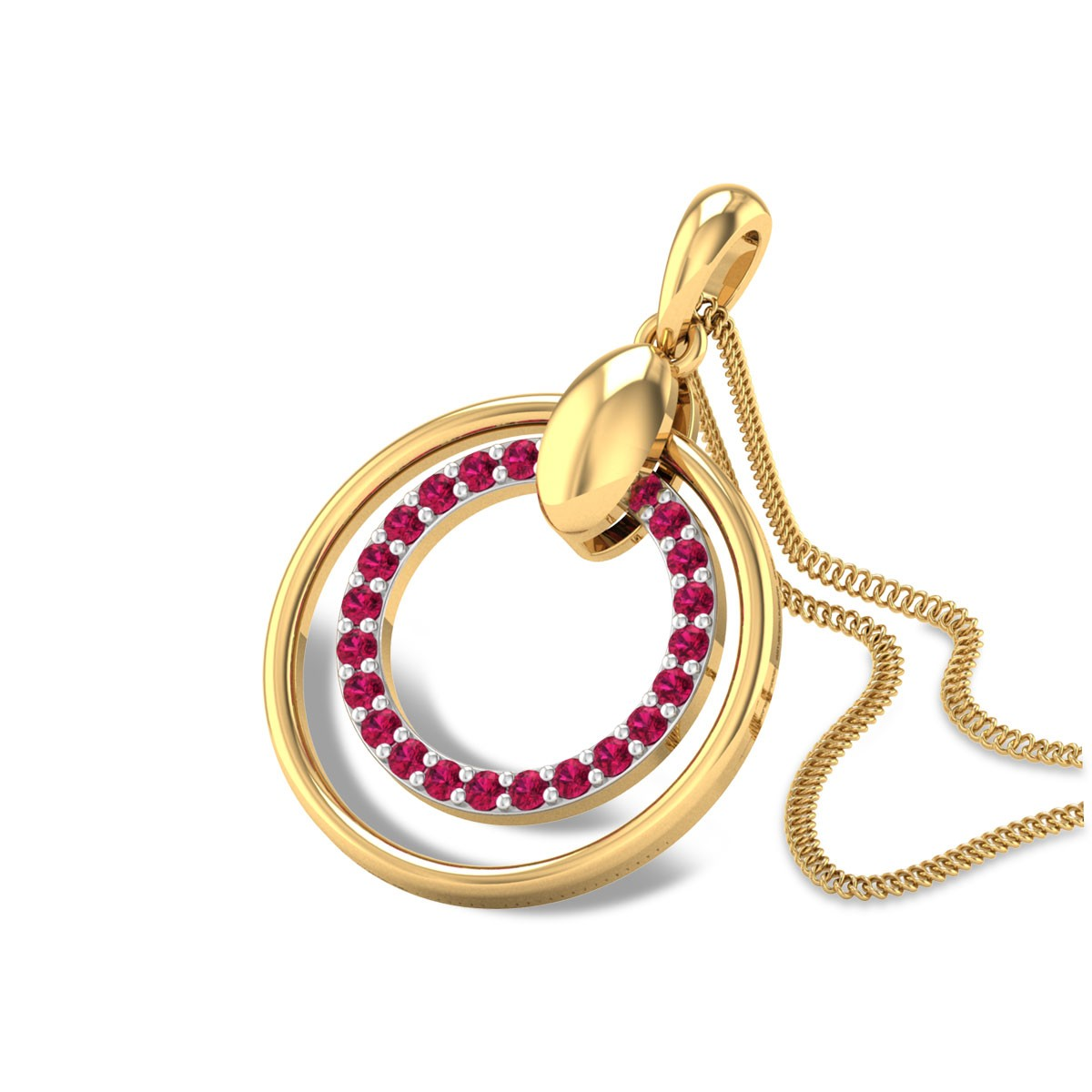 Aabhat Ruby Pendant