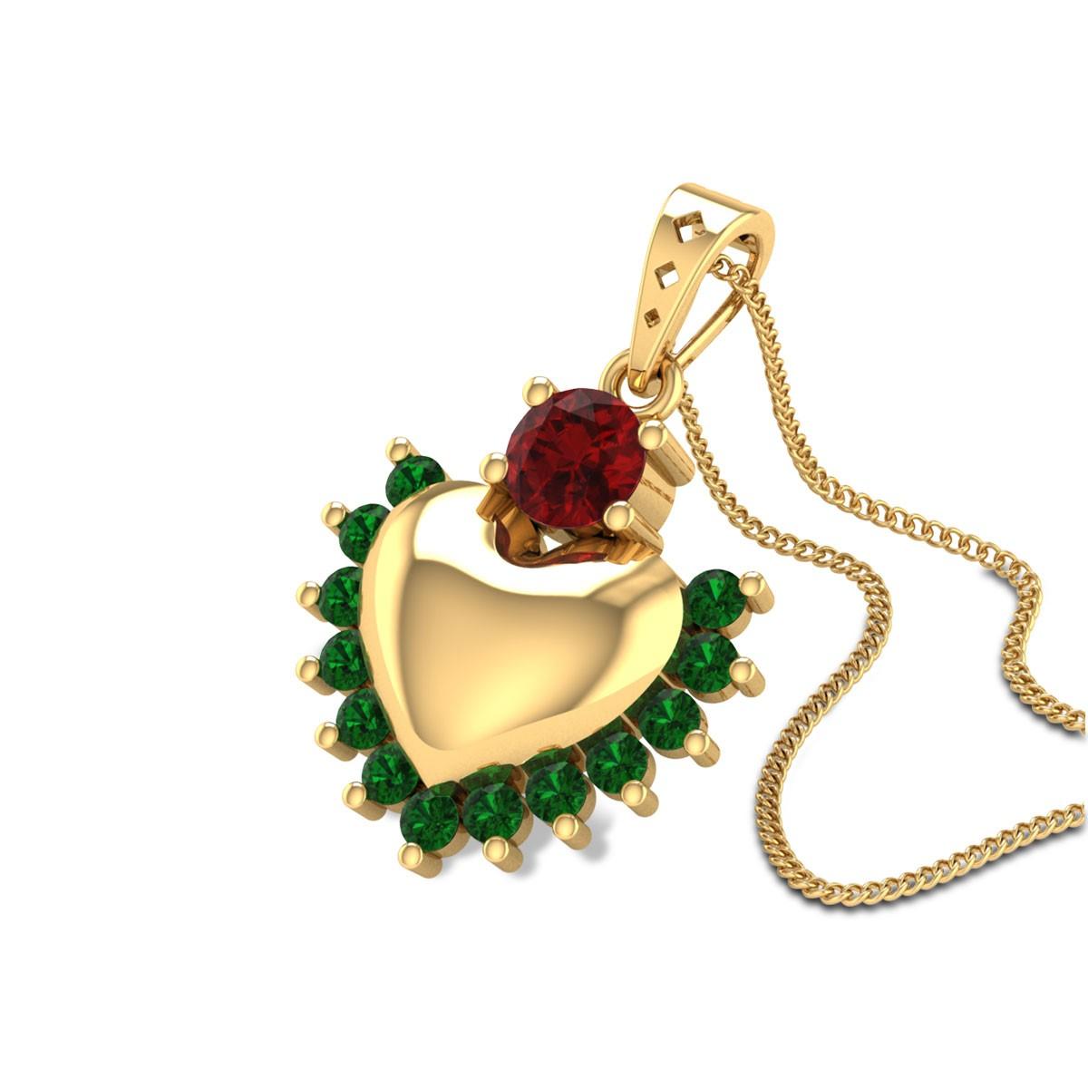 Jorid Heart Diamond Pendant