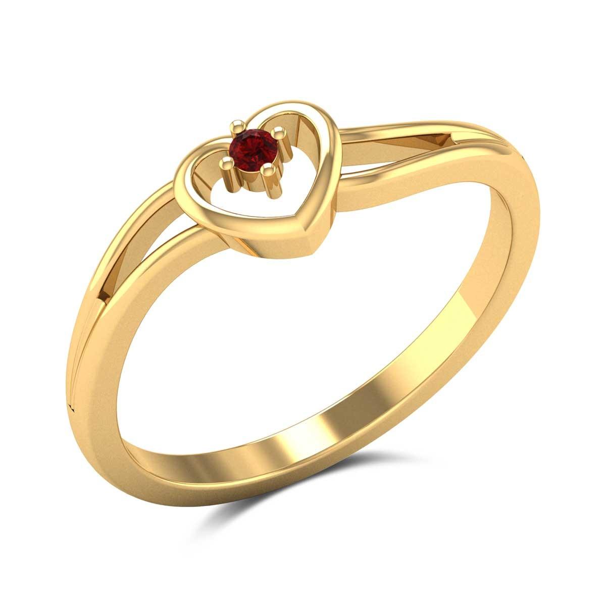 Phaenna Heart Ring