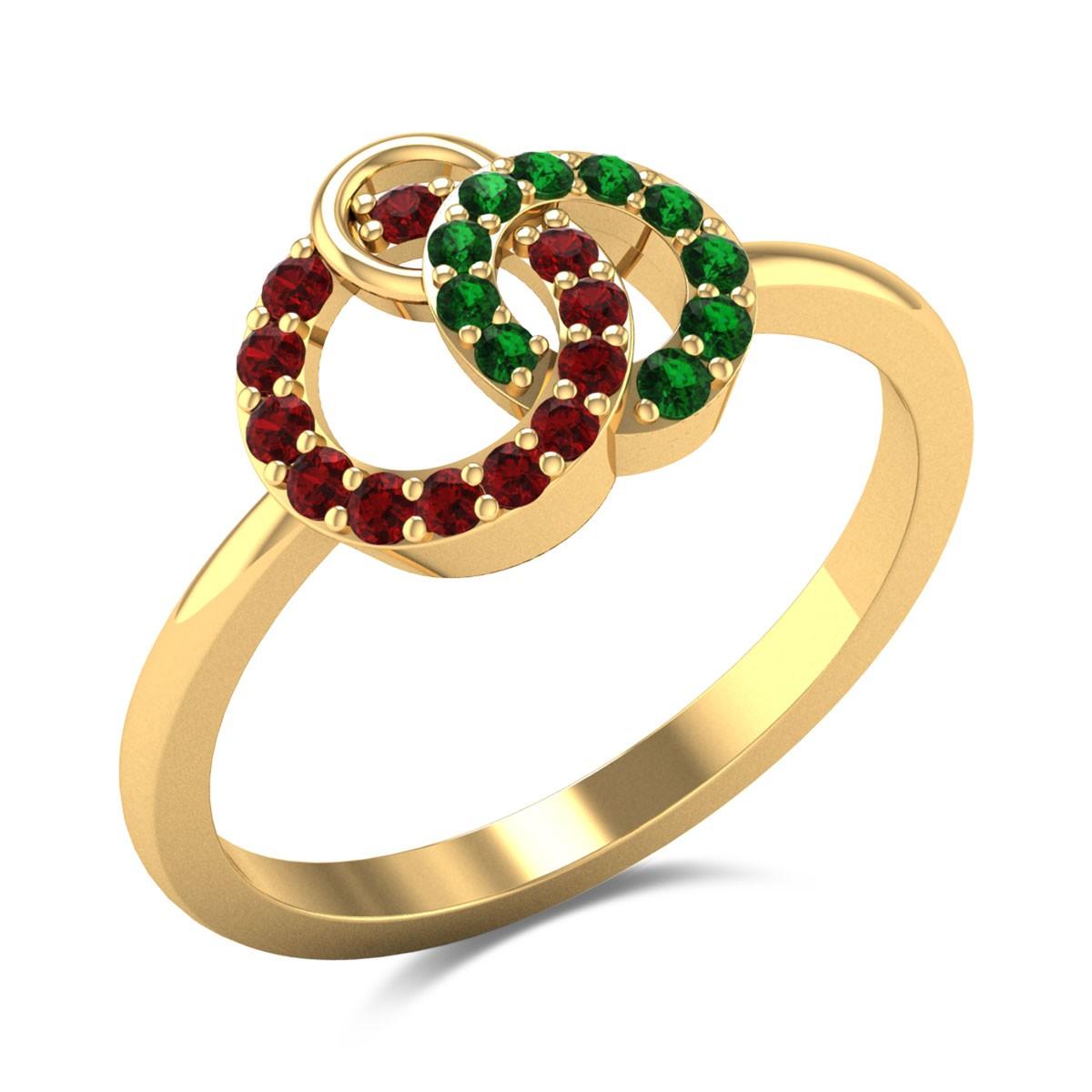 Three Ring Interwined Ring