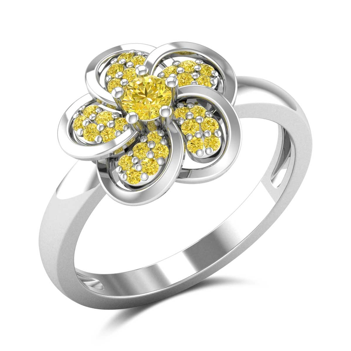 Caltha Yellow Sapphire Ring