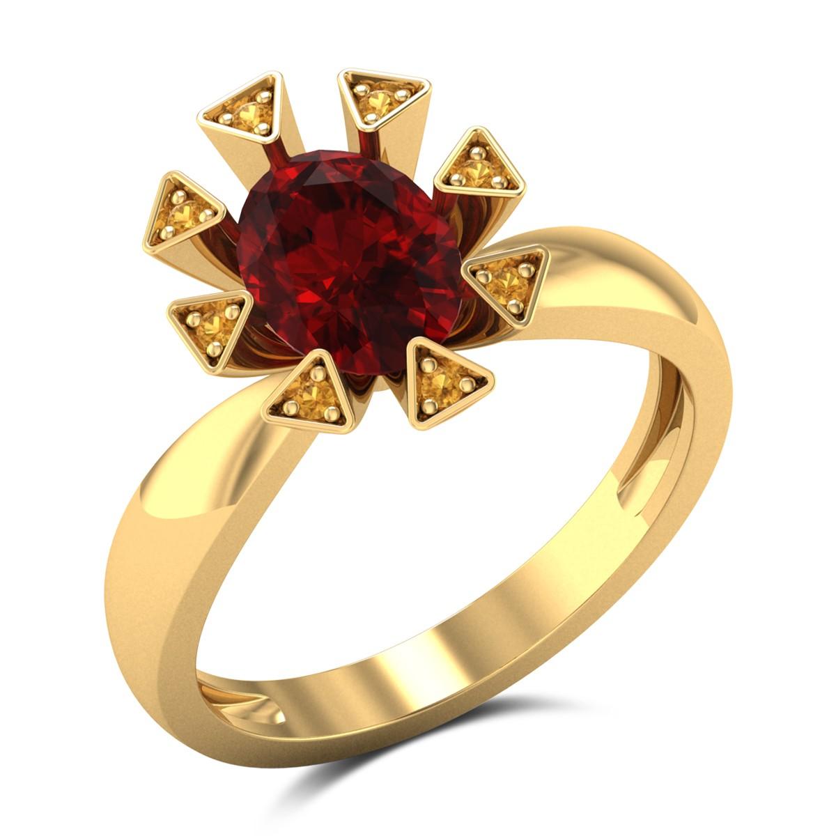 Ruby Spark Ring