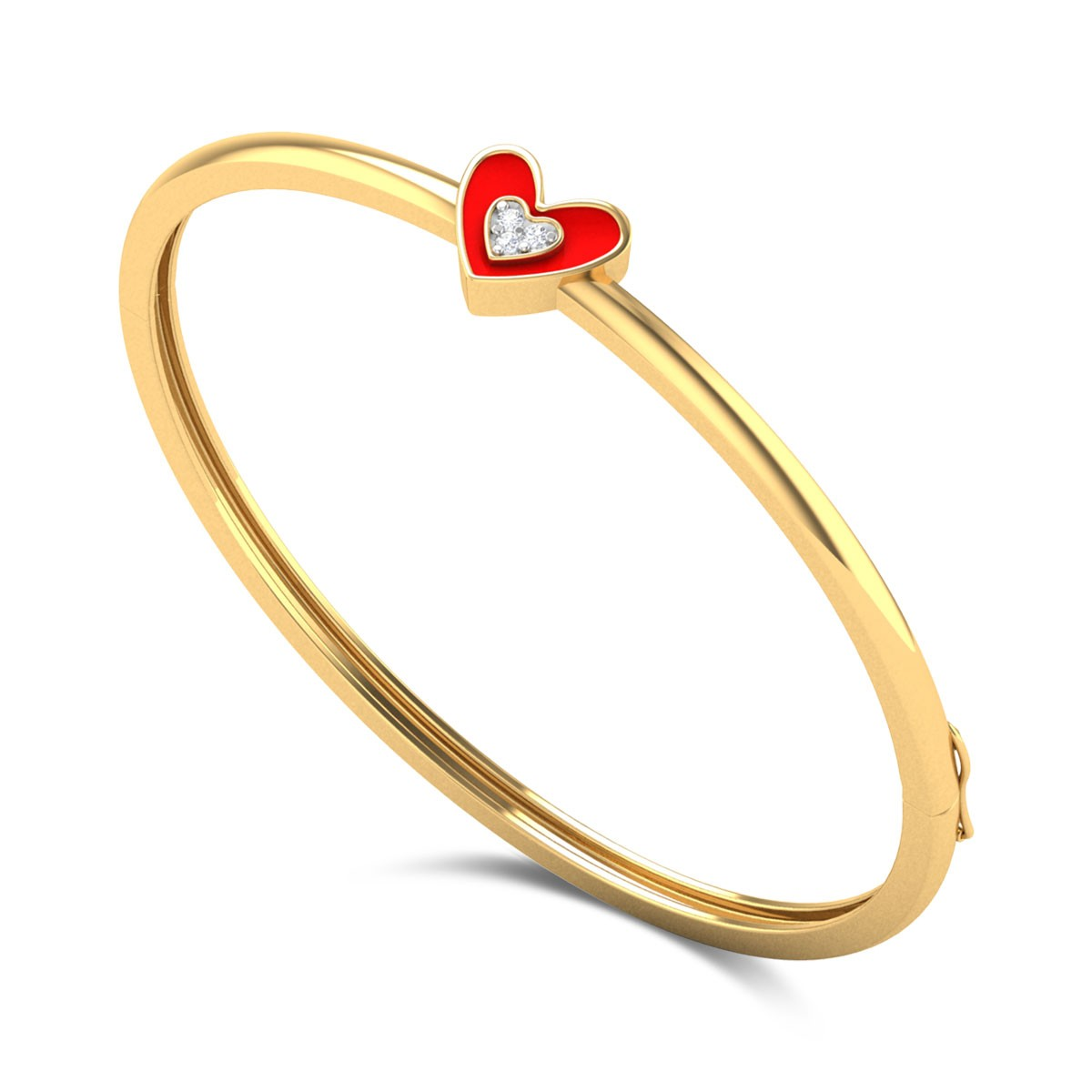 Sweethearts Kids Diamond Bangle