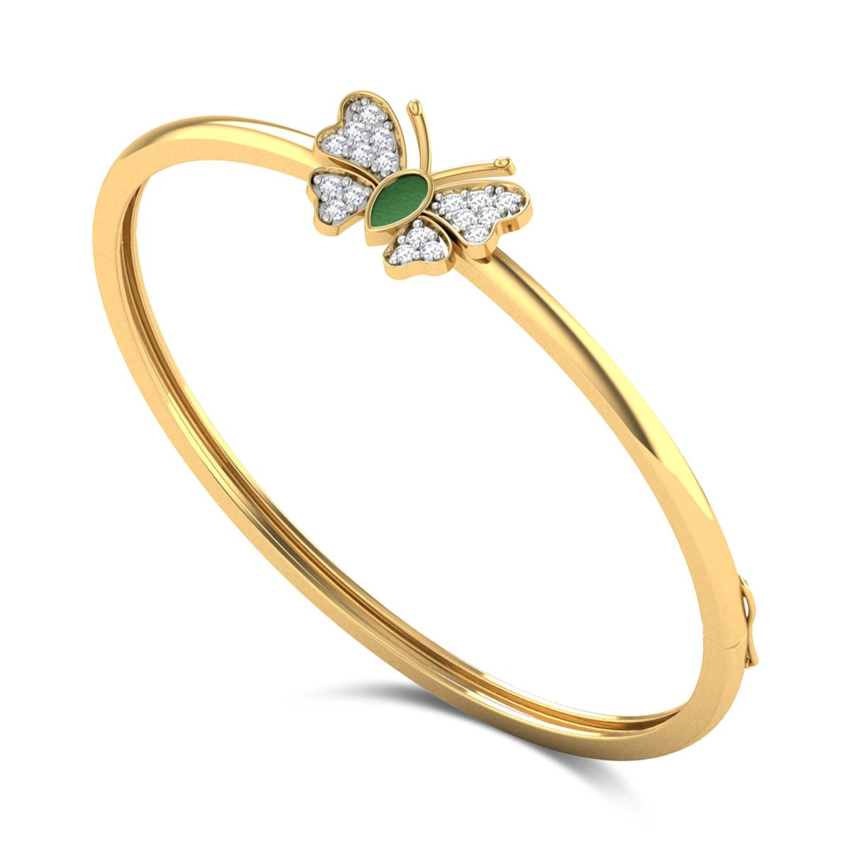 Sylvaine Kids Diamond Bangle