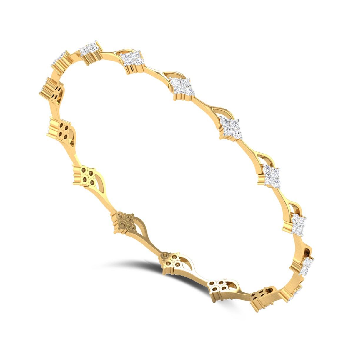 Kolkwitzia Diamond Bangle