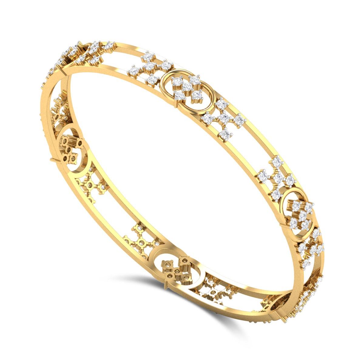 Pavetta Diamond Bangle
