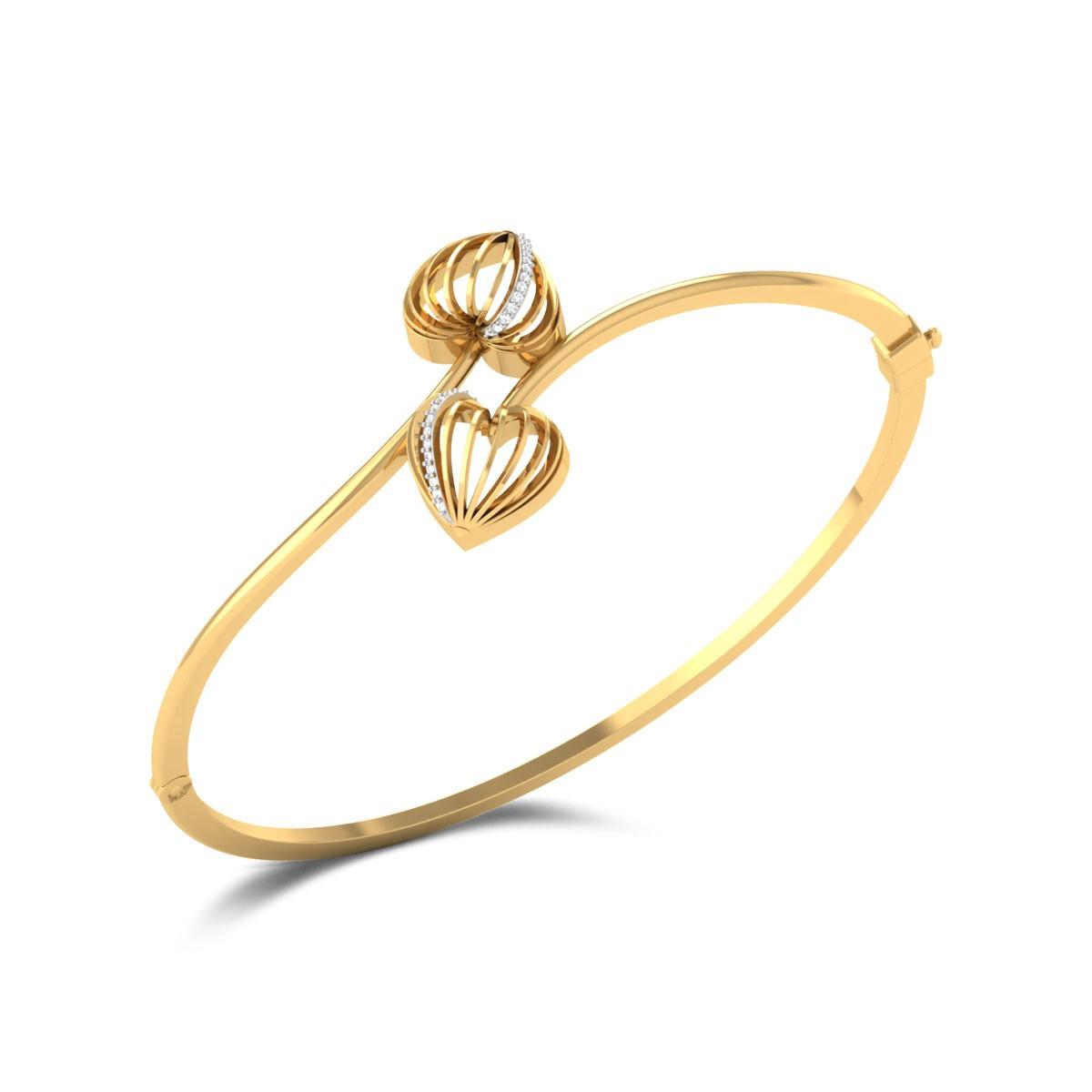 Nadelle Diamond Heart Bracelet