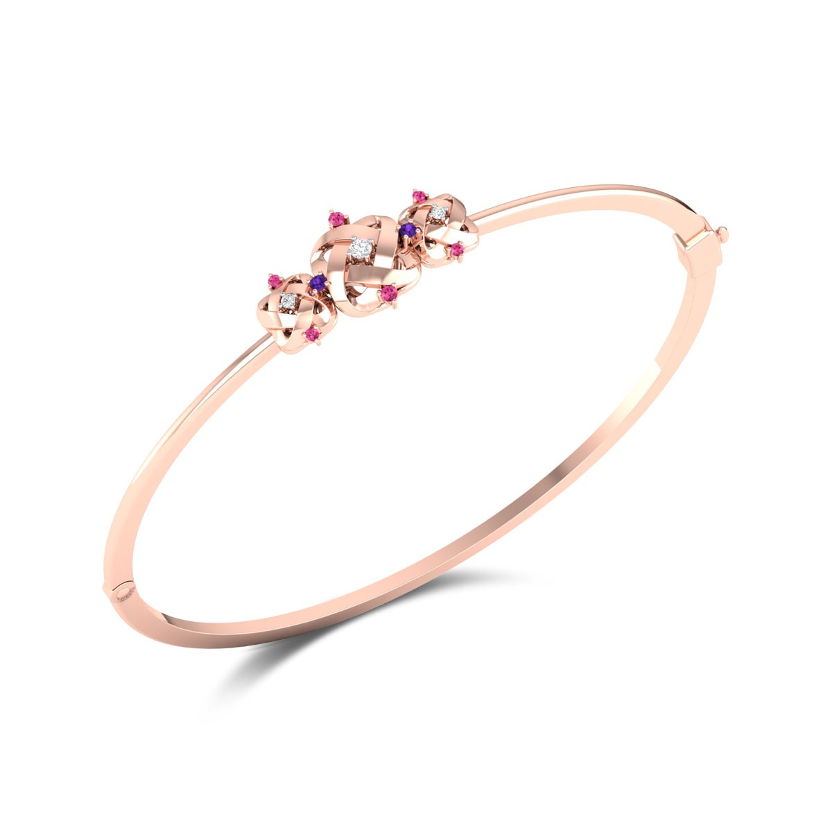 Darrell Openable Diamond Bracelet
