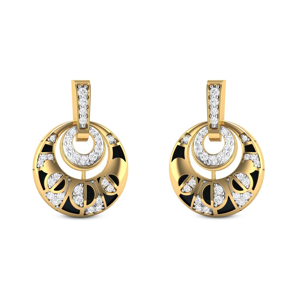 Mie Diamond Earrings