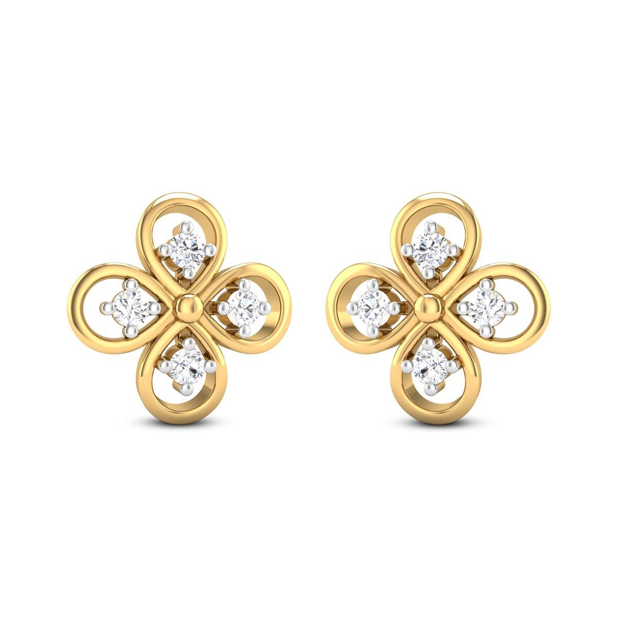 Helence Diamond Earrings