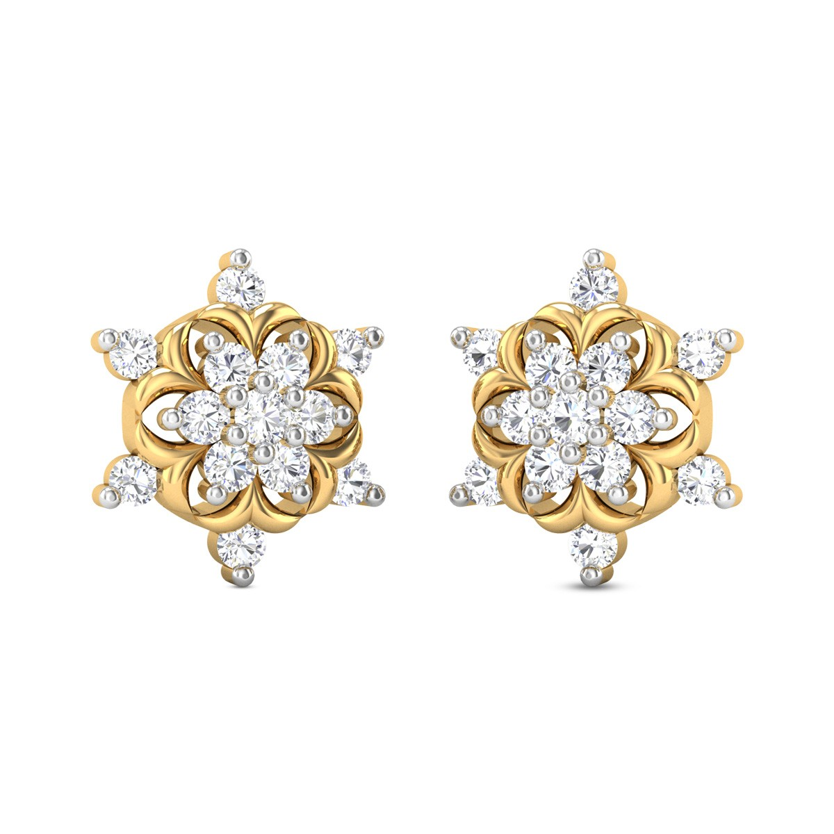 Caroline Diamond Earrings