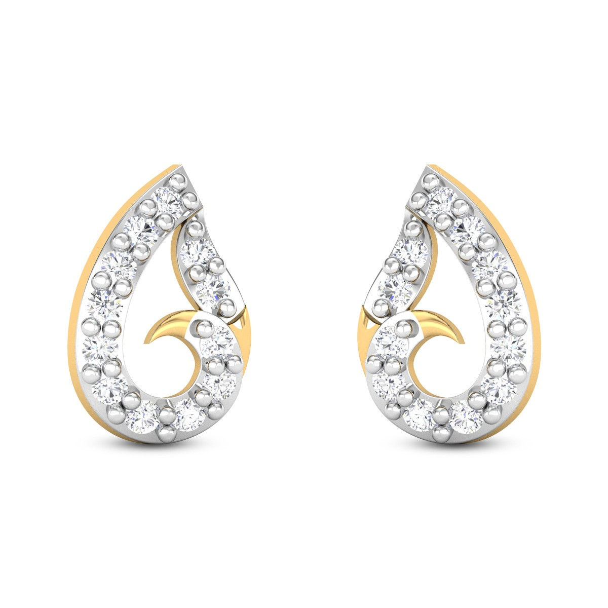 Teresa Diamond Earrings