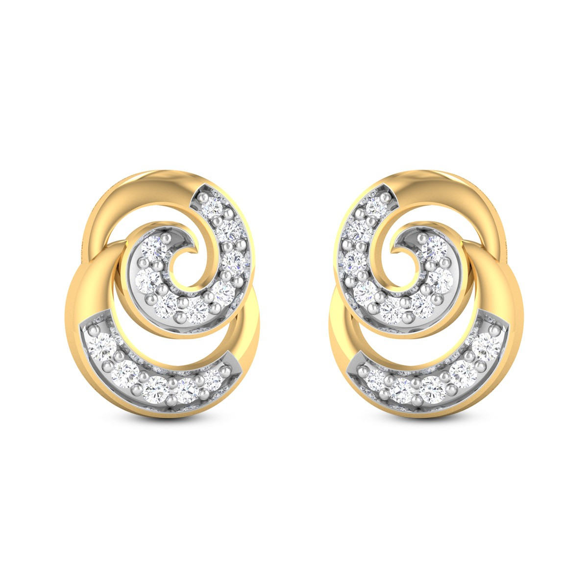 Titania Diamond Earrings