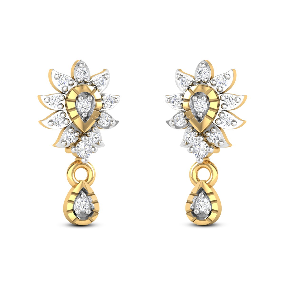 Clilac Diamond Earrings