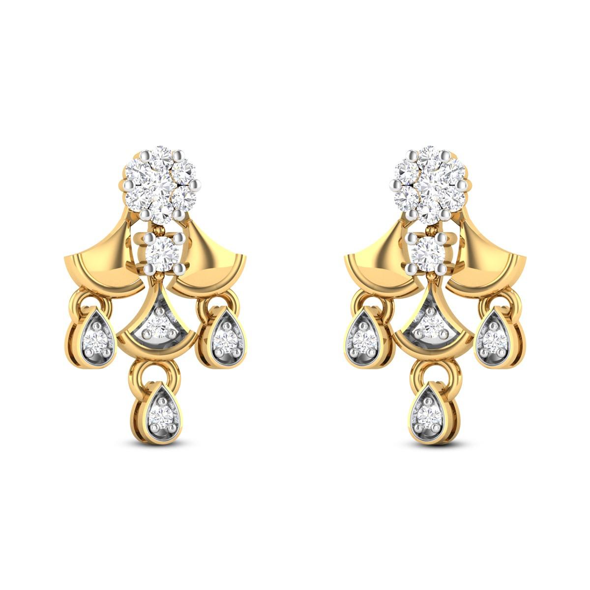 Generous Jenna Diamond Earrings