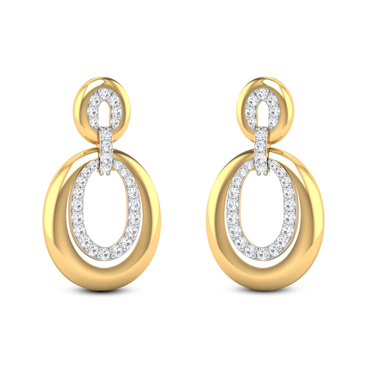 Carefree Cheer Diamond Earrings
