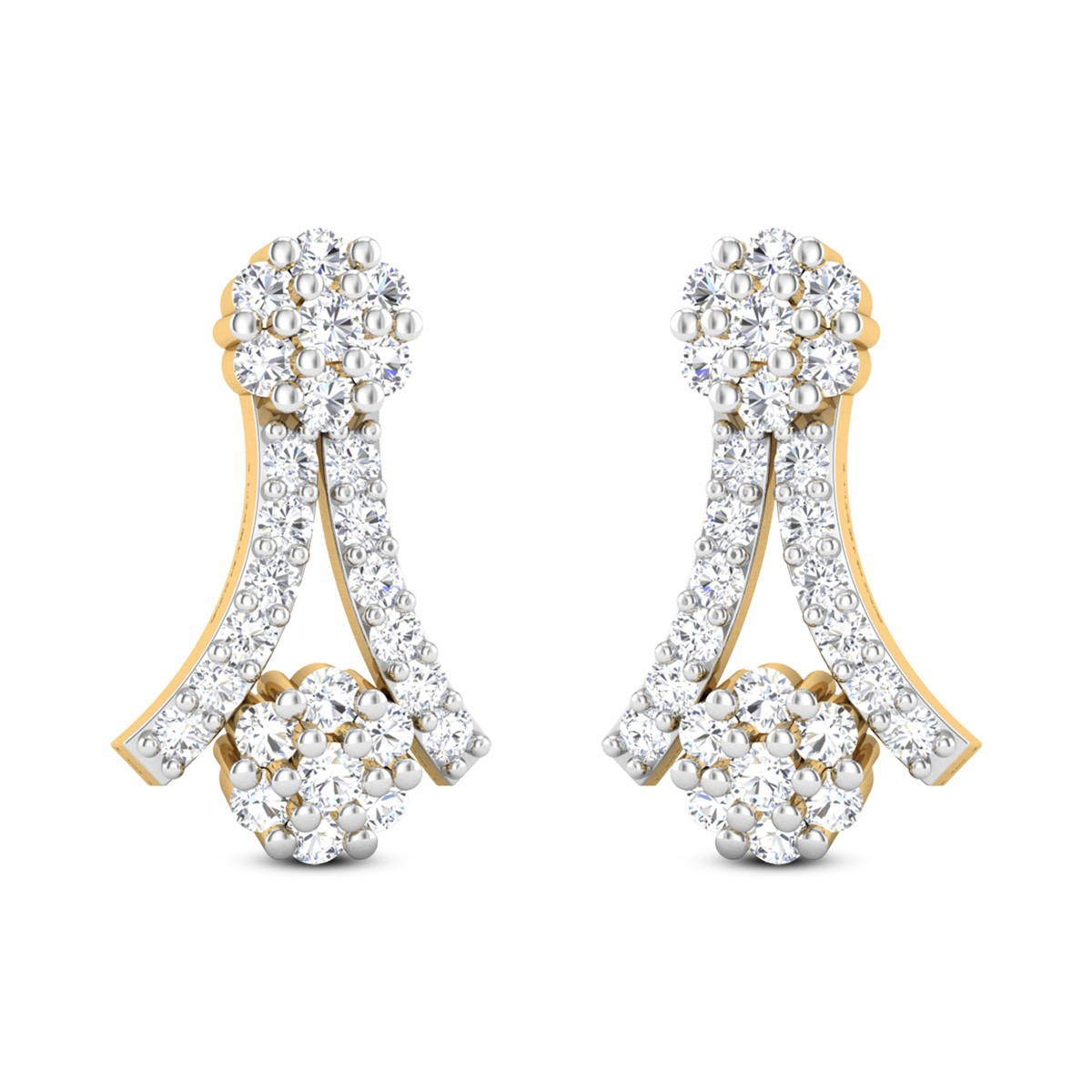 Fairy of Vitality Diamond Earrings