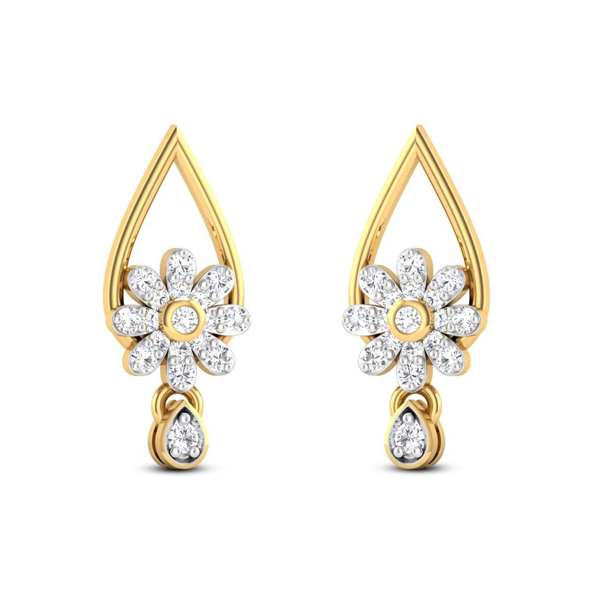 Fairy of Passion Diamond Earrings