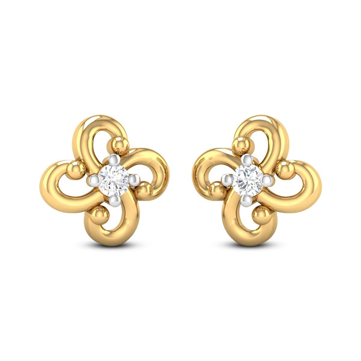 Kyle Diamond Earrings
