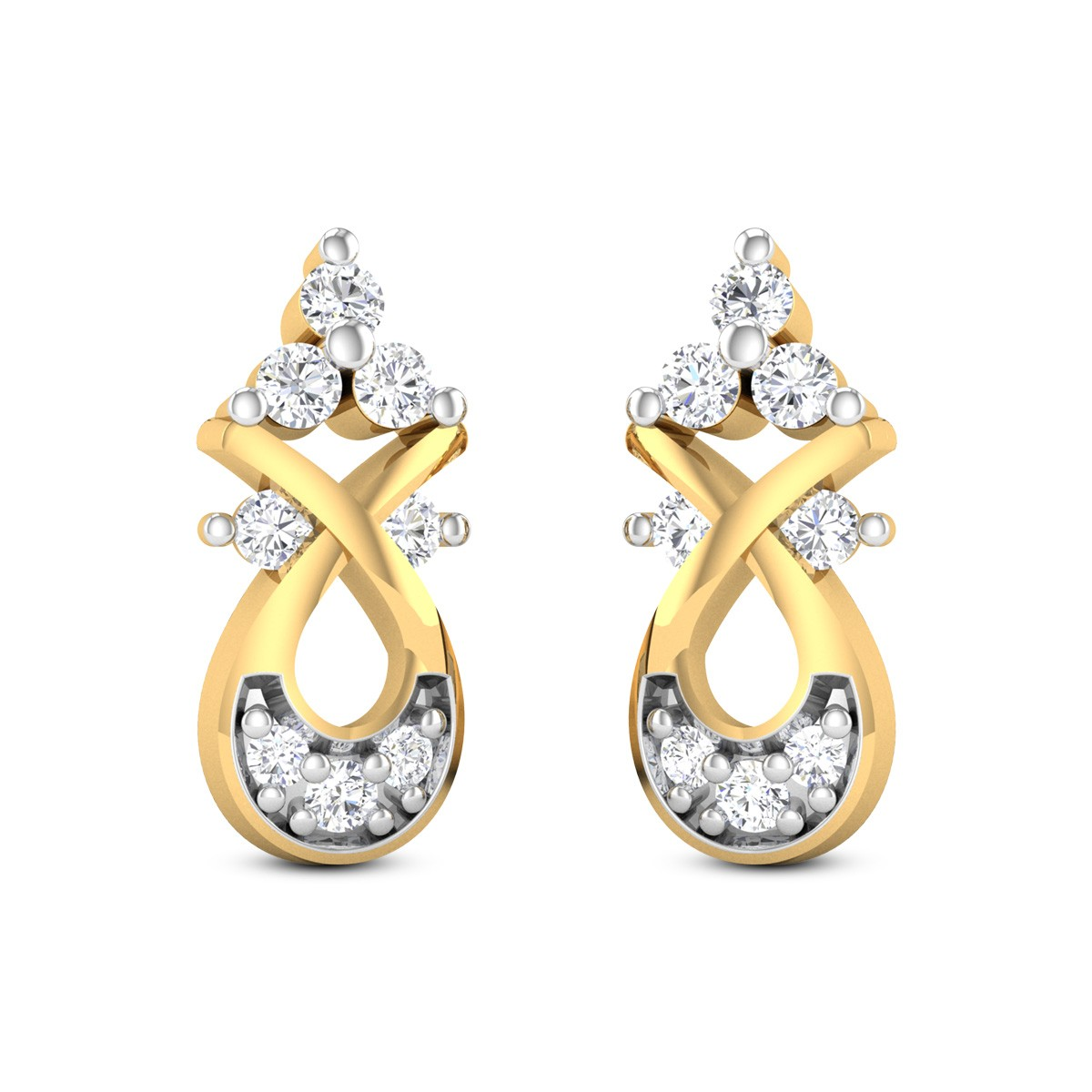 Morwenna Diamond Earrings