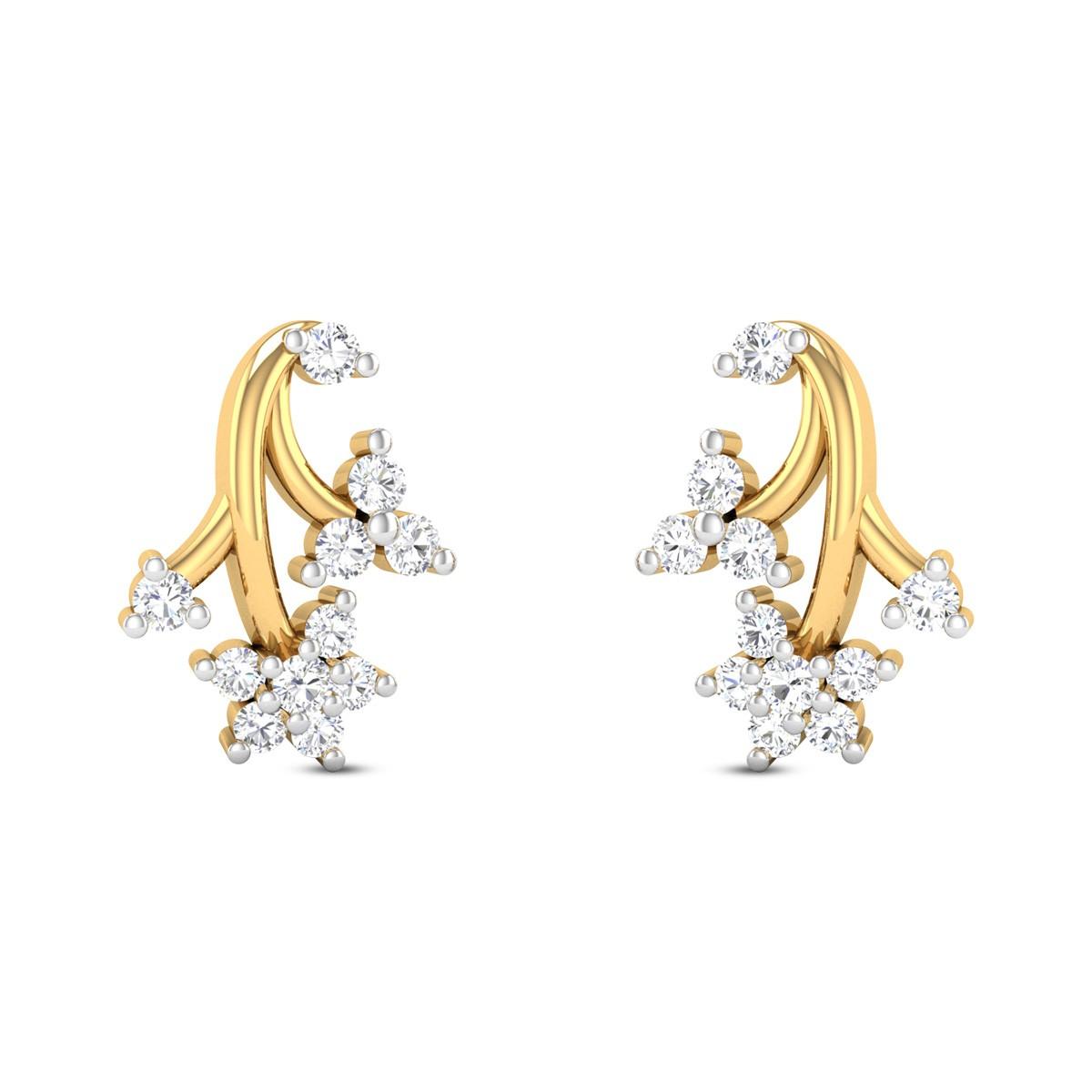 Renita Diamond Earrings