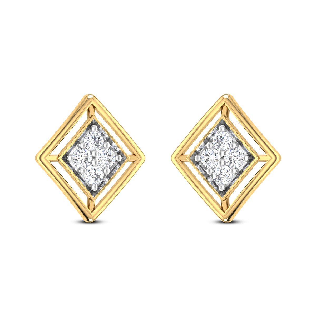 Floreena Diamond Earrings