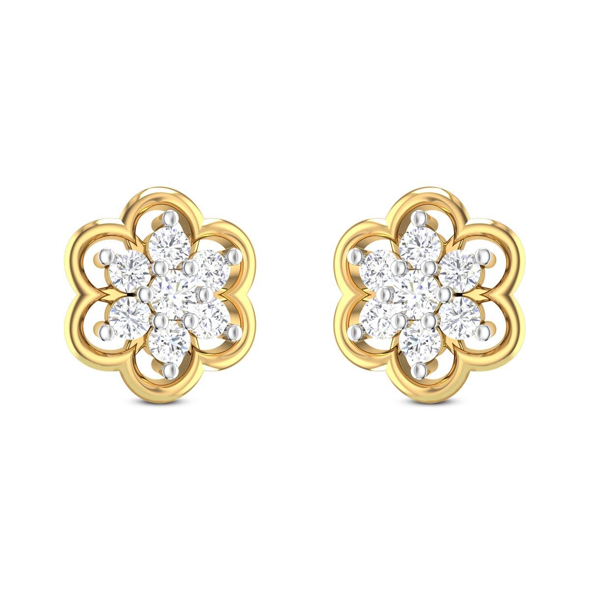 Dilila Diamond Earrings